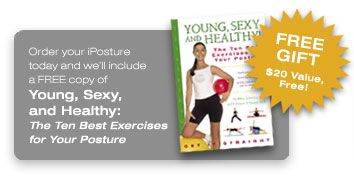 Young, sexy and healthy The ten best exercises for your posture. Free gift $20 value